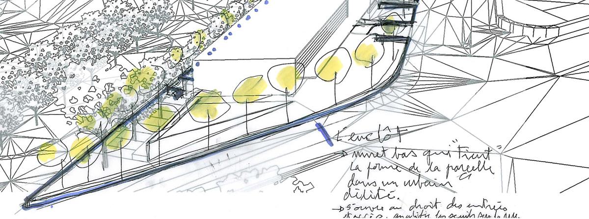 Maîtrise d'oeuvre de l'Agence OPAC et de 20 logements /Les Aubépins // Chalon sur Saone /// 2012