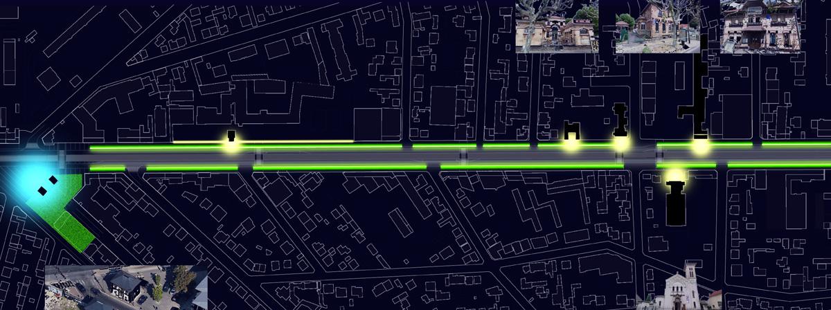 maîtrise d'oeuvre /  Insertion d'un transport en commun en site propre // Pavillons sous Bois /// 2012