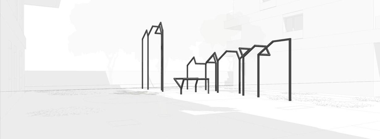 20 02 2015 / Sculpture à ciel ouvert // Sculpture pérenne /// Gennevilliers //// 2015 EN COURS