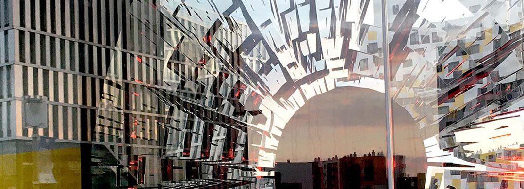 L'ŒIL TOPOGRAPHE /// SCULPTURE-PAYSAGE // NANTERRE / 2020